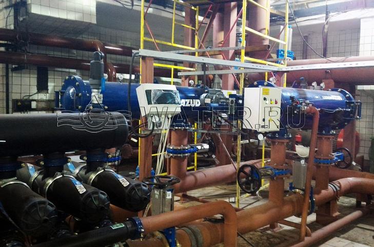 Люберецкие очистные сооружения - доочистка сточных вод
